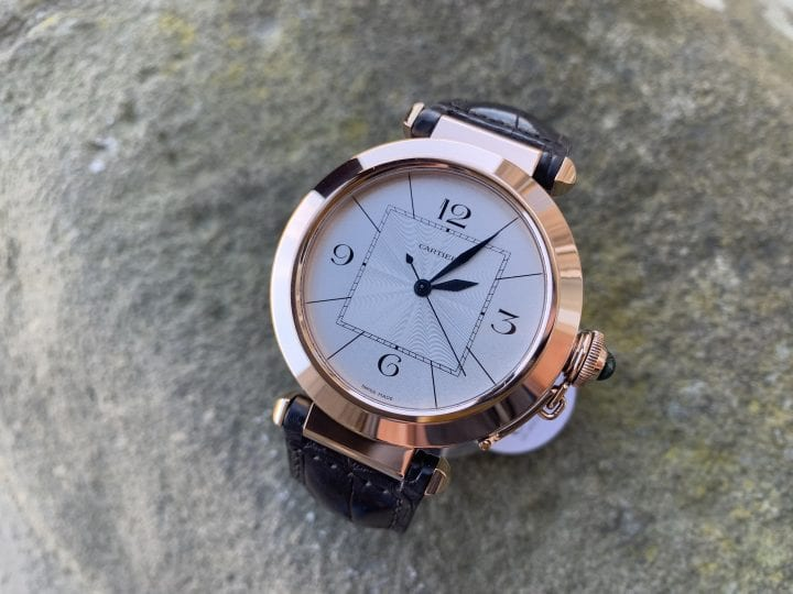 CARTIER PASHA 18CT ROSE GOLD - 2770 - 42MM LARGE SIZE - W3019351