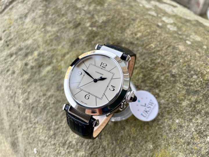 CARTIER PASHA – STAINLESS STEEL - W3107255 – 42MM LARGE SIZE – 2730