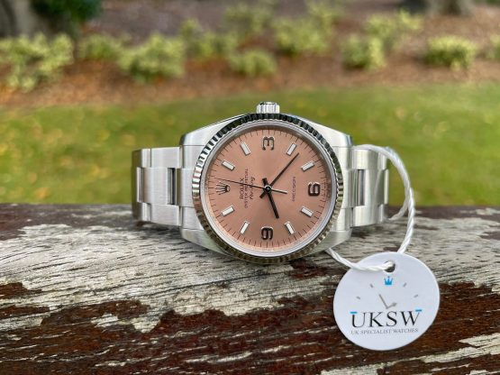 ROLEX OYSTER PERPETUAL AIR-KING – SALMON PINK DIAL – 114234